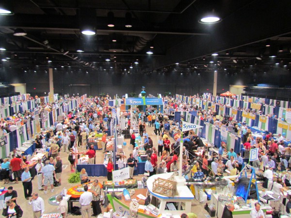 Fresh Off the Farm! Sysco Food Show 2012 | Max King Events