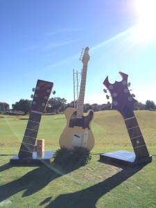 12' Guitar & Guitar Neck (5)